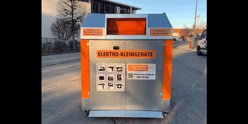Klaus Kinshofer Technik Container Elektroschrott