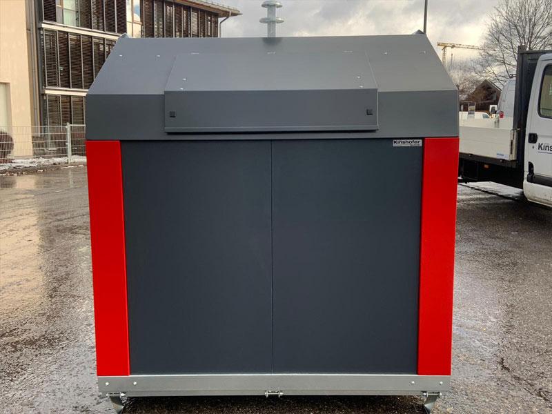 Klaus Kinshofer Technik Restmüll Container