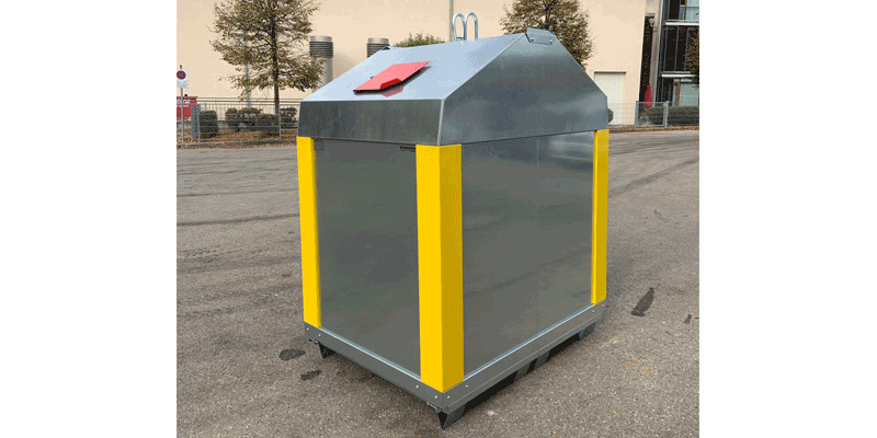 Klaus Kinshofer Technik Container Leichtverpackungen