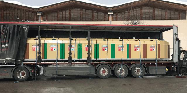 Klaus Kinshofer Technik Container Verladung und Montage