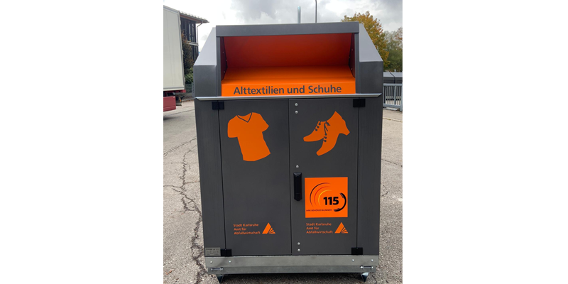 Klaus Kinshofer Technik Container Altkleider