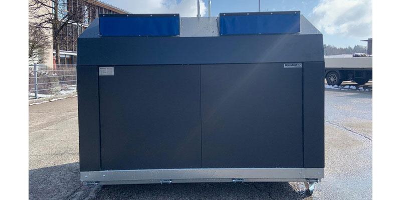 Klaus Kinshofer Technik Papiercontainer