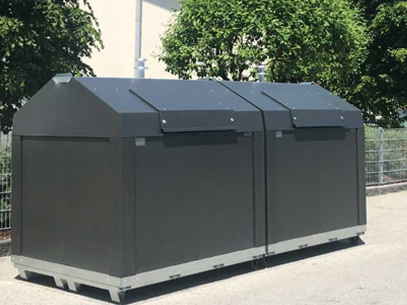 Kinshofer Technik Restmüllcontainer