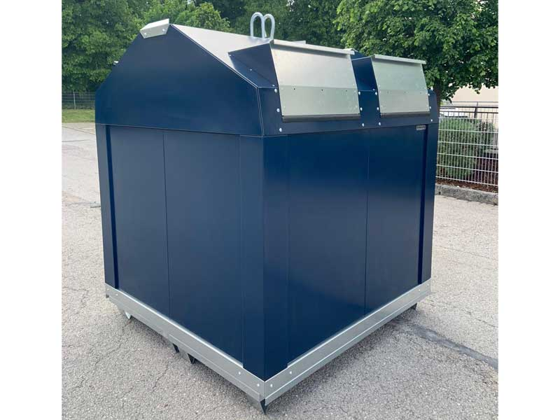 Kinshofer Technik Restmüll-Container